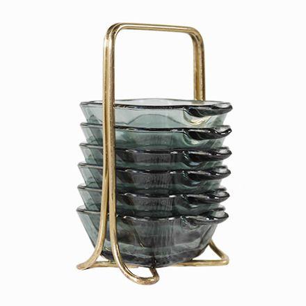 Stapelbare Aschenbecher von Wilhelm Wagenfeld für WMF, 1950er Jetzt bestellen unter: https://moebel.ladendirekt.de/dekoration/accessoires/?uid=de95ed1d-c40d-54fa-87f4-049faf494fd0&utm_source=pinterest&utm_medium=pin&utm_campaign=boards #accessoires #dekoration Bild Quelle: pamono.com
