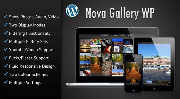 nice Nova Gallery - Multimedia Gallery Wordpress Plugin