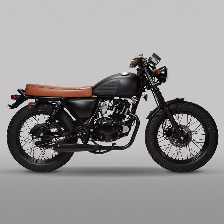 Mutt Motorcycles The Mutt Mongrel 125 Satin Black