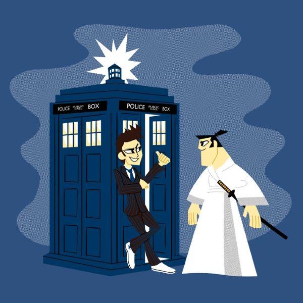 Samurai Jack Becomes A Doctor Who Companion! [T-Shirt], I NEED this!