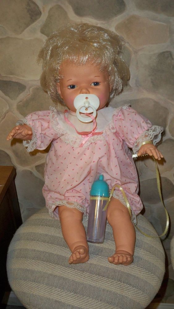 Vintage Tonka 22 Hush Little Baby Doll Pacifier Bottle Outfil