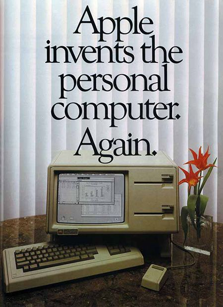 Apple invents the personal computer. Again | Apple | 1982