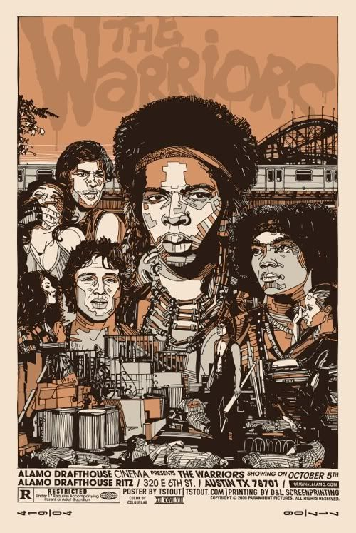 Tyler Stout - The Warriors #movie #movieposter