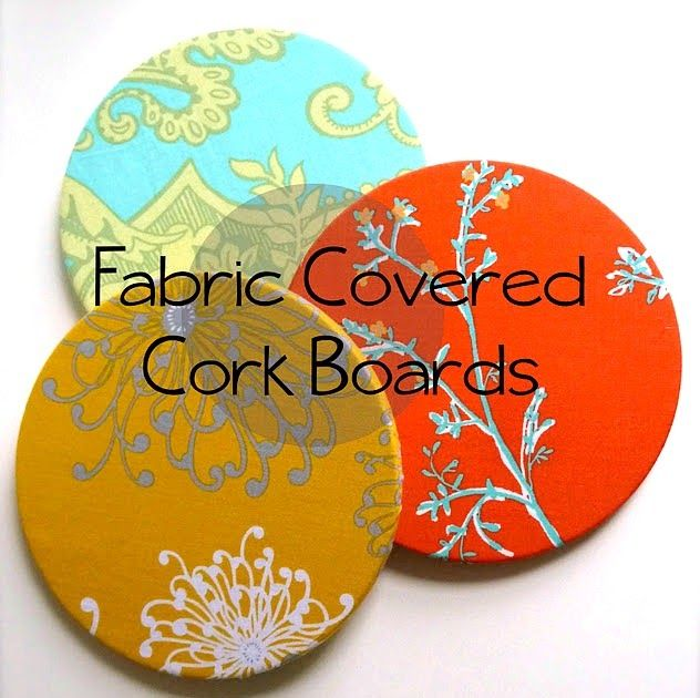 Sew Much Sunshine [to the square inch]: IKEA Hack: Fabric Covered Cork Board Tutorial