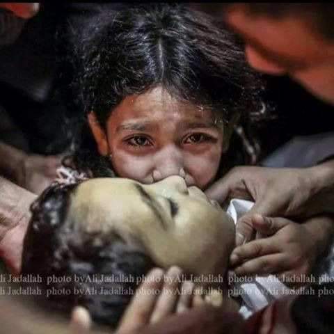 Israel kills children in Gaza.