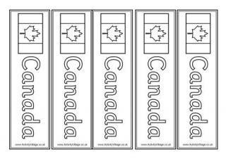 Canada Bookmarks
