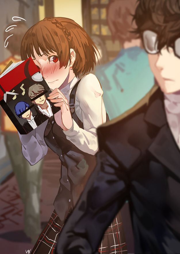 I don't like the black lines over the eyes of the P3 & P4 protagonists on the books. Other than that, it is awesome.