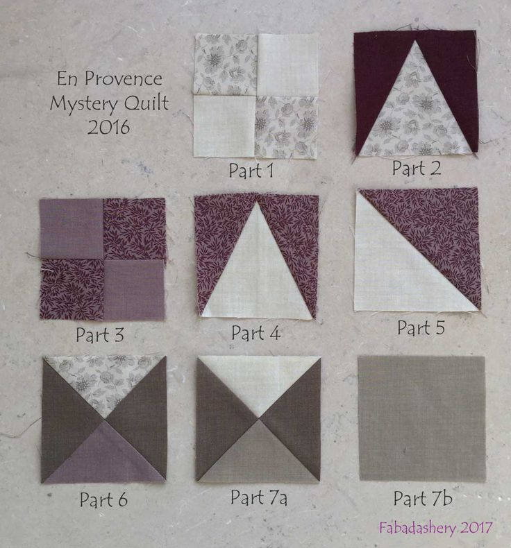 En Provence, 2016 Bonnie Hunter Mystery Quilt