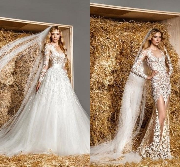 Wedding Dress With Removable Skirt 63