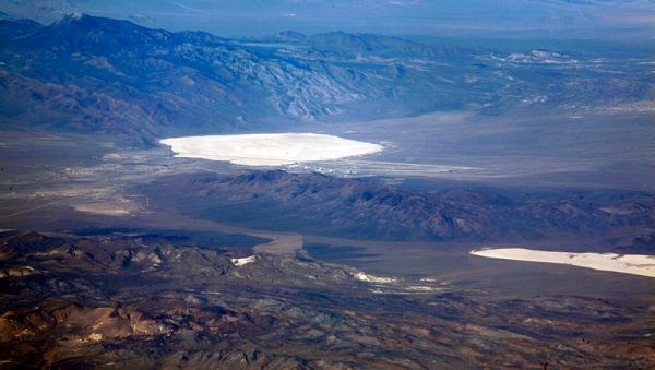 groom lake papoose lake area 51 photo - Top Secret Tombs: The Classified Stealth Aircraft Burial Grounds of Area 51