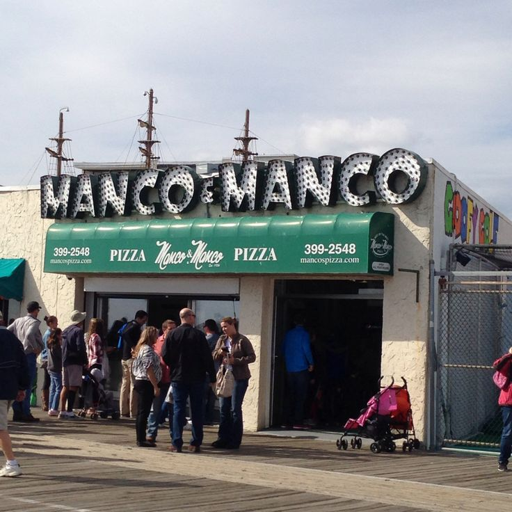 Manco and Manco. Ocean City, NJ Boardwalk