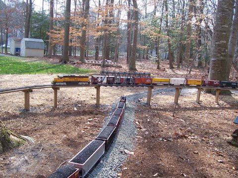 220 best model train info images on pinterest model trains model rh pinterest com g scale underground track wiring G Scale Track Layout Specs