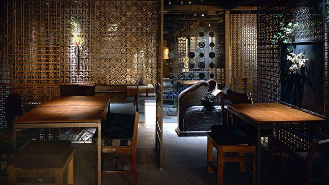 Shunju Tsugihagi restaurant & bar by Super Potato