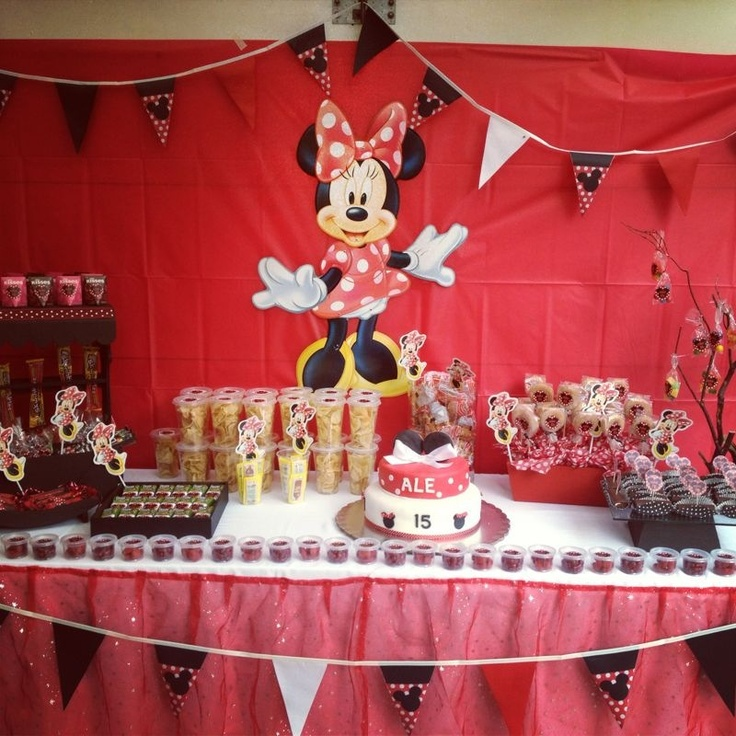 Mesa De Dulces Mimi Fiesta Mickey Mouse Pinterest Mesas