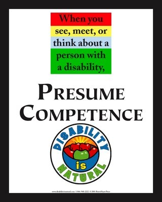 17 best Presume Competence images on Pinterest Professional - presume and assume