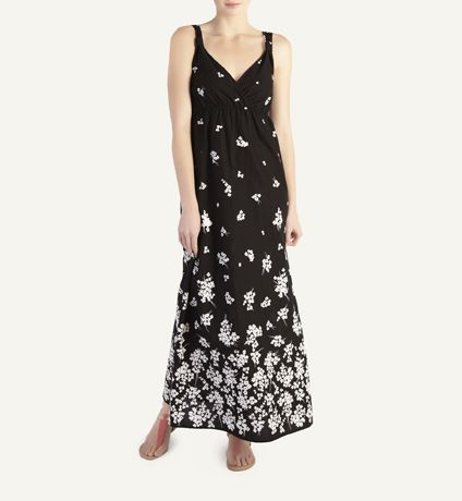 Floral border print  maxi dress from Woolworths at R199.