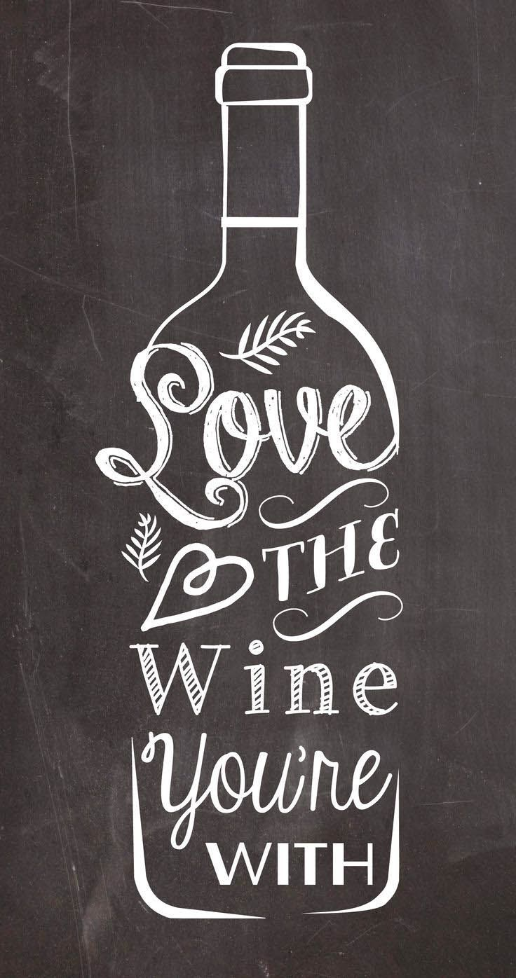 [CITATION DU LUNDI] Love is in the air today :) #monday #quote #wine #vins…