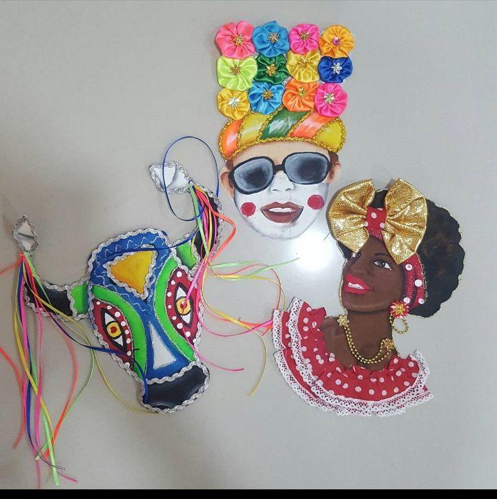 Apliques carnavaleros