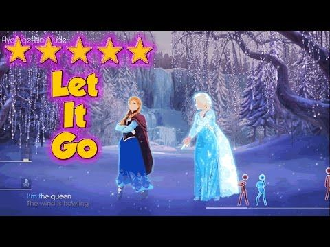 Just Dance 2015 - Let It Go - 5* Stars brain break