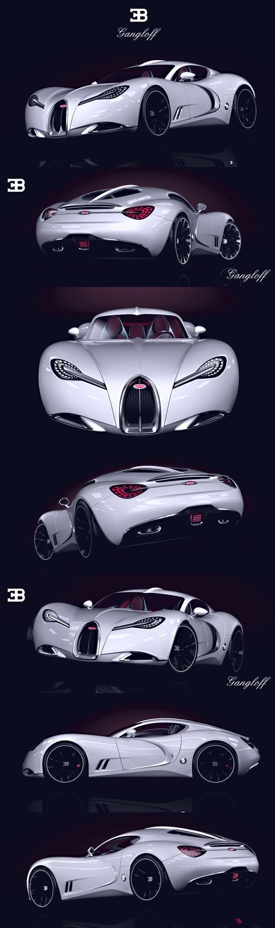 BUGATTI GANGLOFF CONCEPT #luxury sports cars #celebritys sport cars #customized…