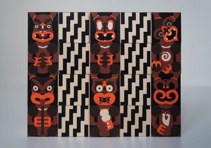 Best Awards - Made by Johnson. / Maori Alphabet Blocks