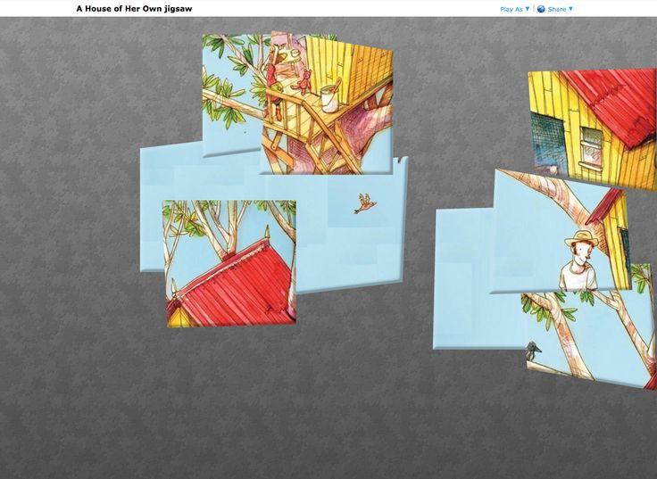 A House of Her Own: Online Jigsaw http://www.jigsawplanet.com/?rc=play&pid=35fe9dd66b69