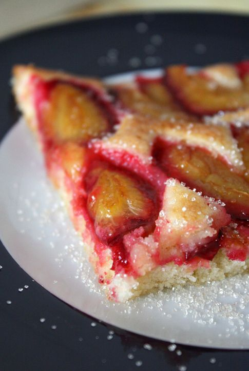 . My mamas favorite dessert. Its basically a plum tart ...