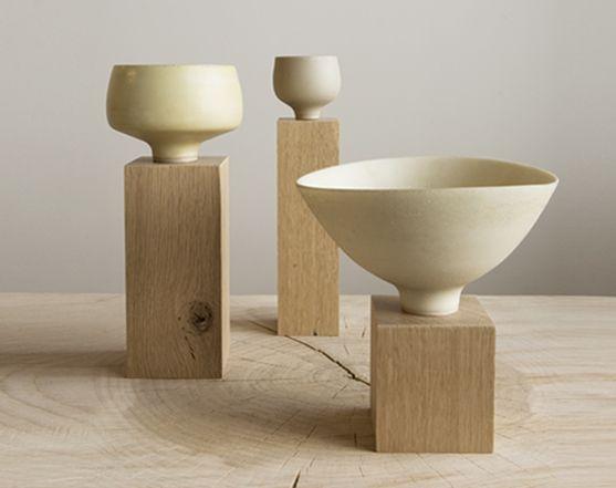 Ryota Aoki jewelry series porcelain bowls