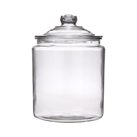 2Gal Glass Jar - I have 2 of these we can use (with lids) and one 1Gal without the lid.