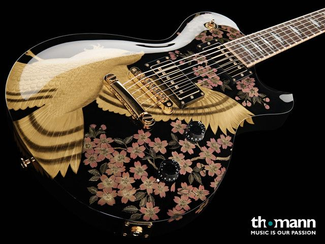 Beautiful electric guitar