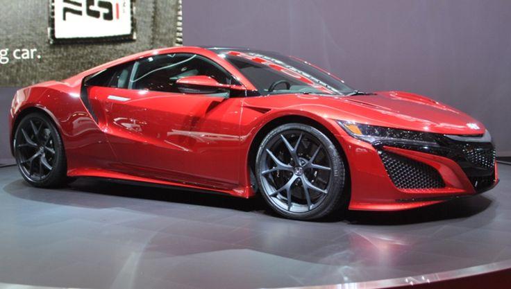 Honda NSX : 550 chevaux en hybride pour se frotter aux supercars : Salon de Genève 2015 : les voitures de luxe et de sport à l'honneur - Linternaute