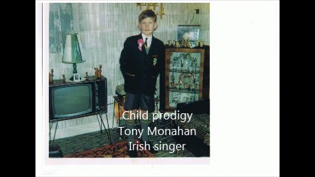 Tony Monahan,Irish Singer, Carlow