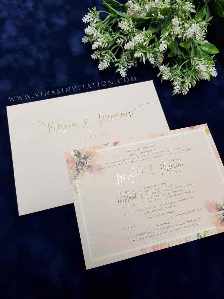 165 best blossom flower wedding invitations by vinas invitation vinas invitation sydney wedding invitation indonesia wedding invitation blossom flower floral theme stopboris Gallery