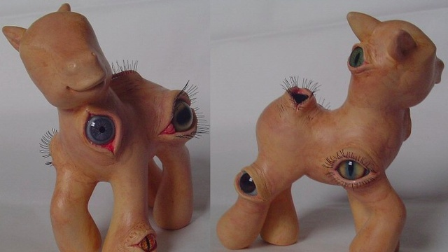 Gaze upon the most disturbing My Little Pony ever made