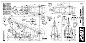 240 rigid chopper frame plans