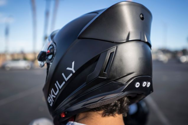 With a 180° rearview camera, Bluetooth and futuristic styling. Skully Helmets is bringing a fighter pilot-style Heads Up Display to your everyday motorcycle ride. This is first publication to experience Skully in the real world.