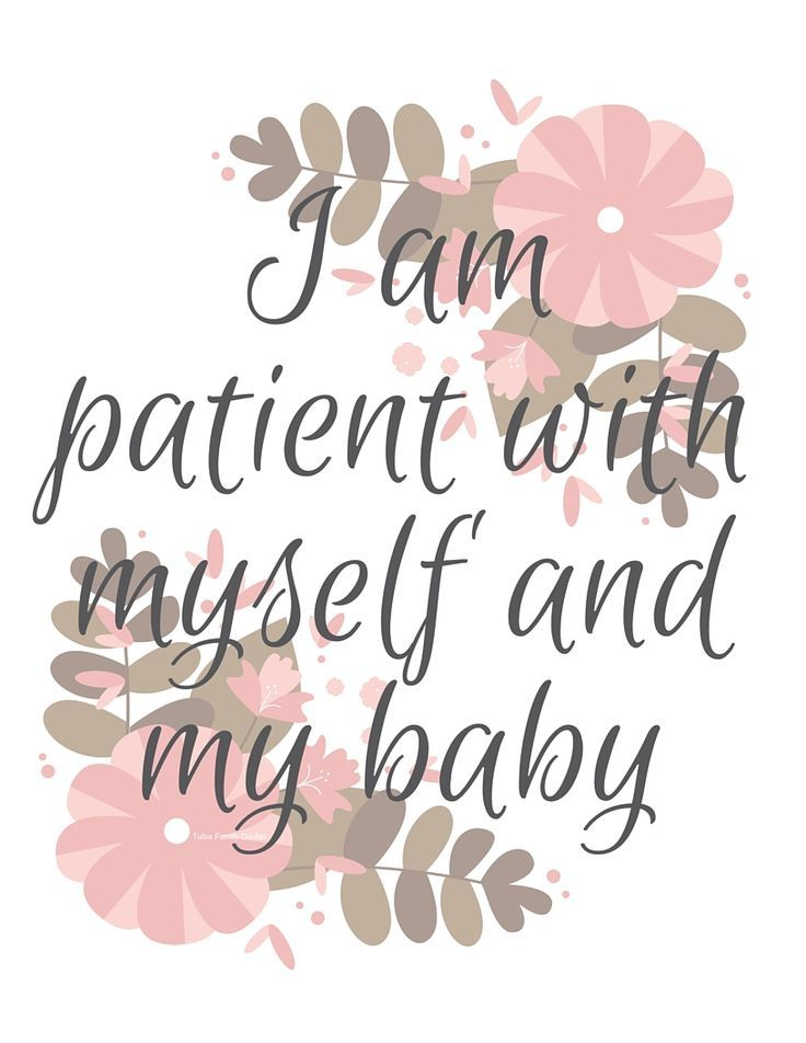 Birth and New Mom Affirmations - Free Printables