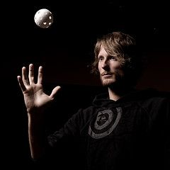 Markus Suntila (ansik) Tags: light portrait sports ball goalie eyes flash goalkeeper floorball tps strobist maalivahti