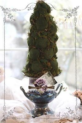 Moss rock topiary - tutorial