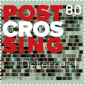 Austria Postcrossing Stamp
