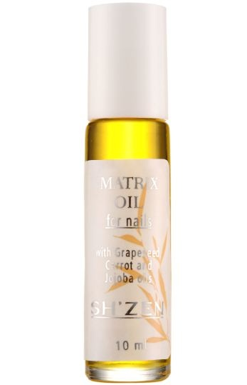 Liquid Gold! The Sh'Zen Matrix Oil rich in nutrients and vitamins,  feeds the nail where it needs a boost the most - in the matrix.   http://www.shzen.co.za/hands_nail_care.php