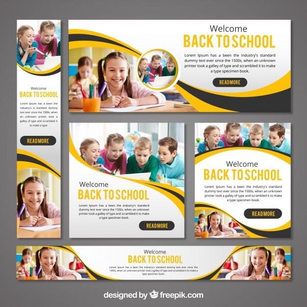 Banner Design For School