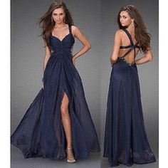 latest matric farewell dress navy - Google Search