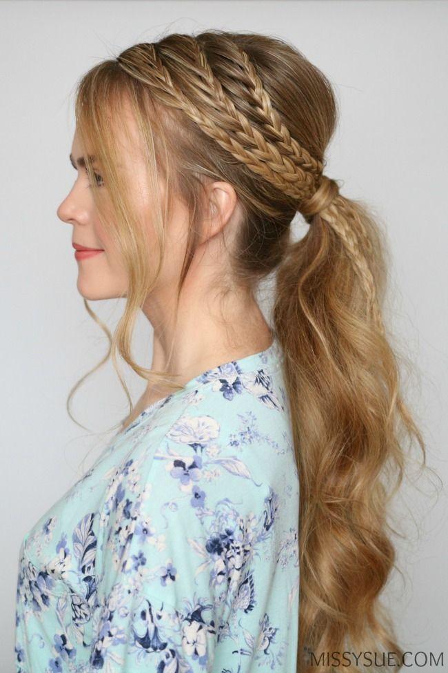 Triple Lace Braid Ponytail – MISSY SUE