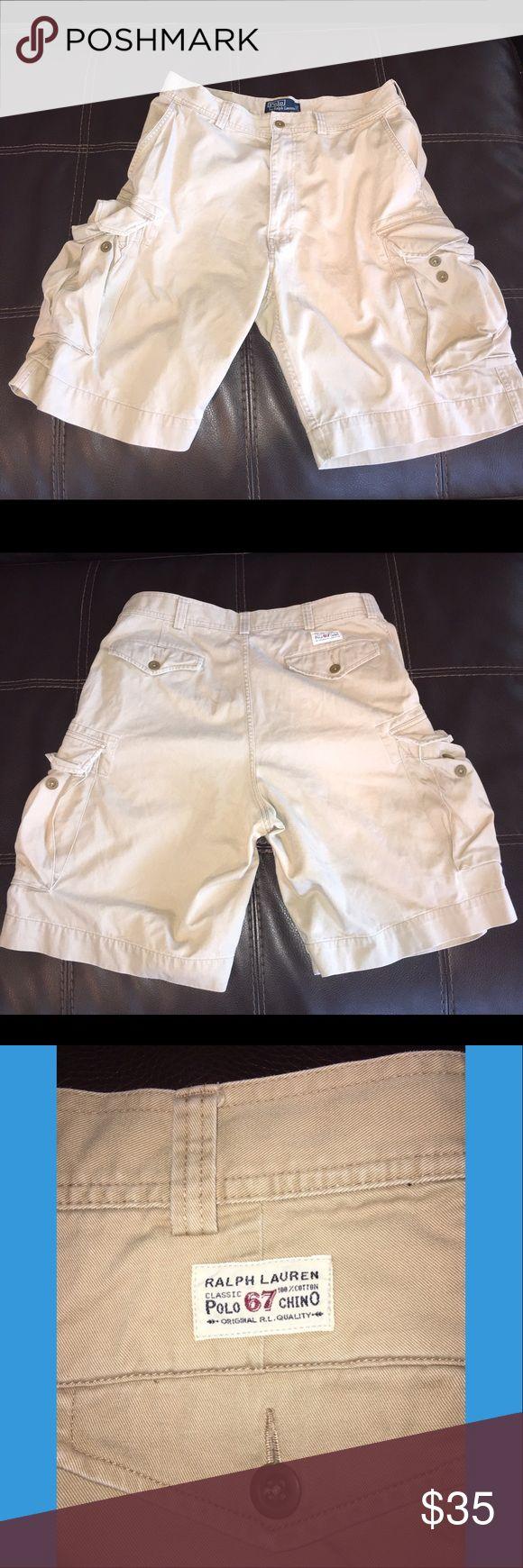 Ralph Lauren Chino Cargo Shorts Size 35 Excellent Condition Ralph Lauren Chino Cargo Shorts Size 35. Classic Fit! Ralph Lauren Shorts Cargo