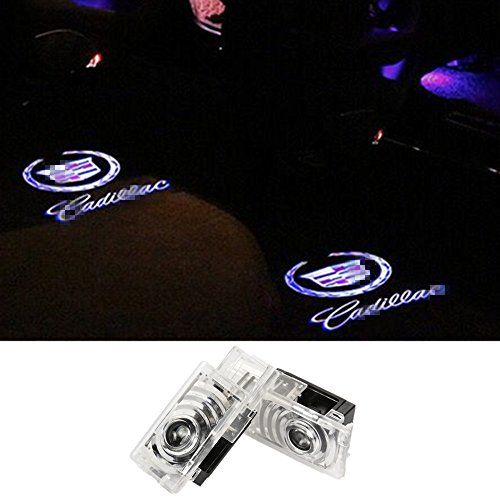 SYAUAWTO Accessories Car Door LED Logo Projector Ghost Shadow Lights For Cadillac SRX 2011-2017 ATS 2014-2017 XTS 2009-2016(2013Except)2 Pcs - This welcome lights is positioned into the under surface of the front doors. When the door is opened, the For cadillac logo is illuminated onto the open door surface to provide a light to aid entry into and out of the vehicle. When you close the door, the logo light disappears. Compatibility: Fo...