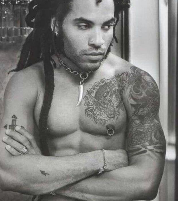 Lenny Kravitz: Tous les tatouages du chanteur | ROCK ...