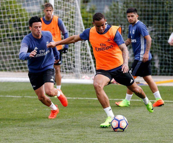 El delantero paraguayo Sergio Díaz fue convocado por Zinedine Zidane para entrenarse con parte del plantel principal del Real Madrid.