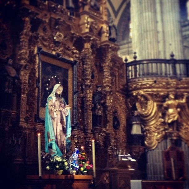 #Mexico #Cathedral #VirginMary
