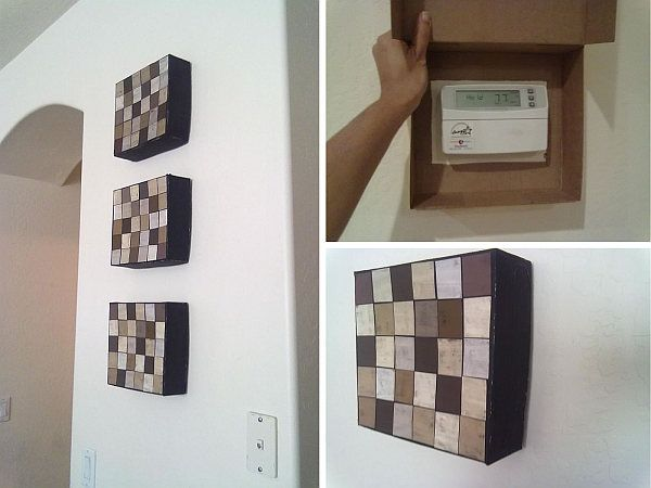 Hide and Cover your Thermostat | Canvas Art Coverings in Just Three Steps